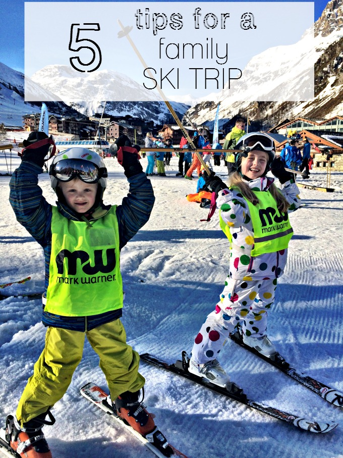5 Tips for a family ski trip