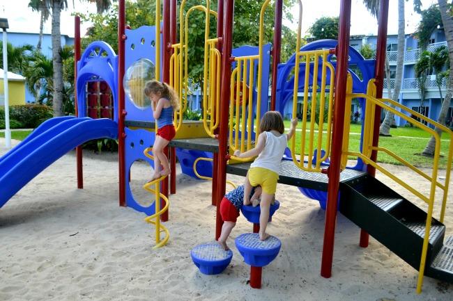 Play area, Turks and Caicos Beaches