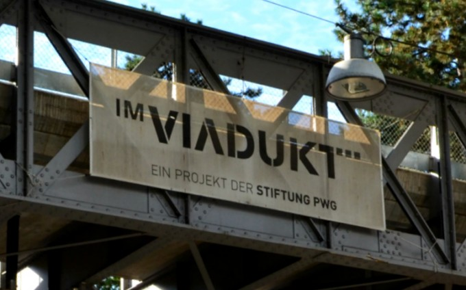 Im Viadukt is a seriously cool shopping area and gourmet food court built under the railway arches in the more industrial area of Zürich.