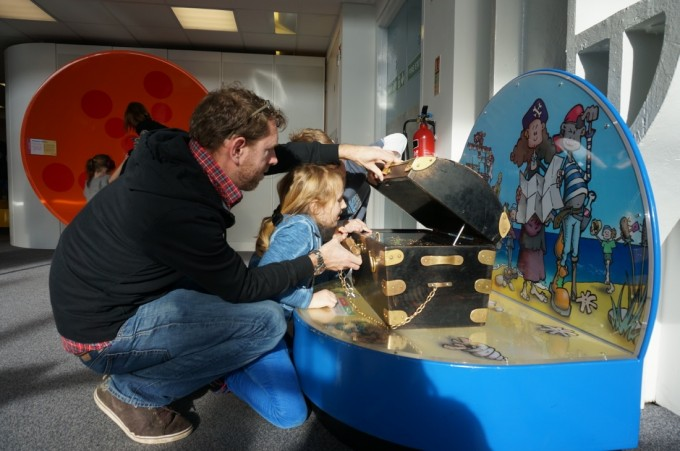Techniquest in Cardiff Bay is a hands on incredibly fun Science Centre for all ages