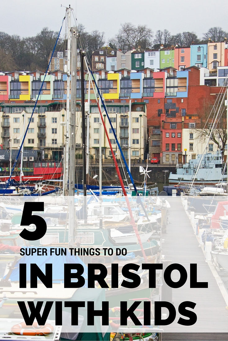 5 things to do in Bristol with kids