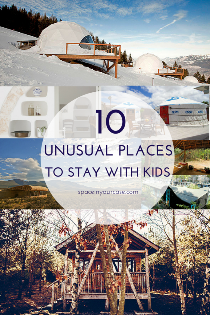 10 unusual places to stay with kids - family-friendly accommodation your kids will LOVE!