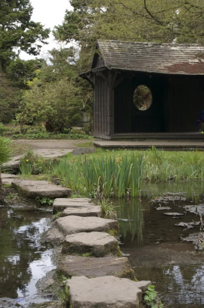 Newstead Abbey Nottinghamshire Japanese Garden