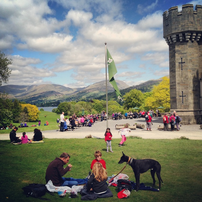 Lake District family days out and adventures - Wray Castle