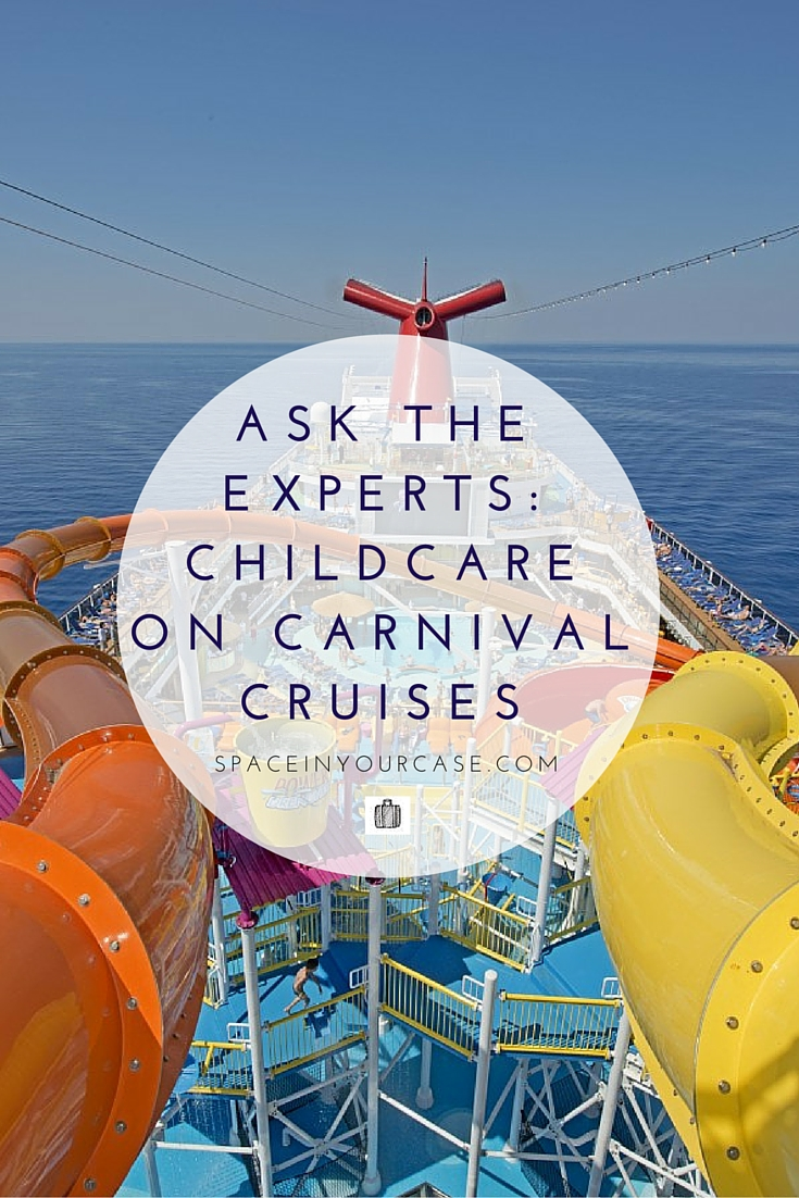 Ask The Experts - We interview staff on Carnival Cruise Lines about childcare and activities for children on board