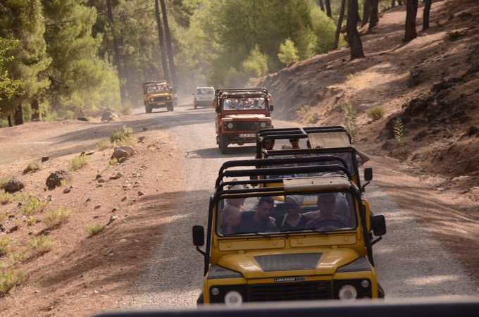 Jeep Safari from Sensatori Fethiye