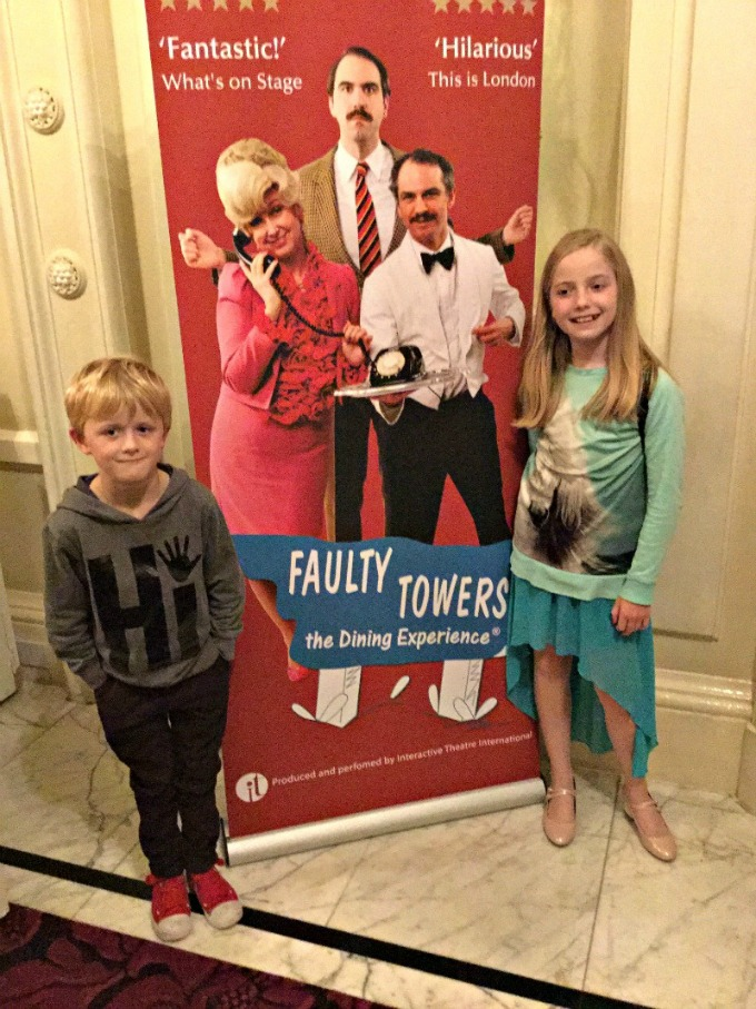 The Amba Hotel Charing Cross plays host the the very funny Faulty Towers Dining Experience show