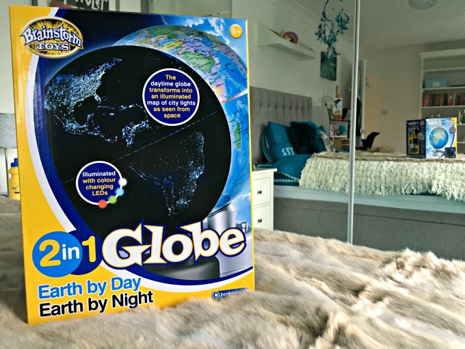 The Earth by Day Earth by night globe is guaranteed to spark some conversations about the world with your children