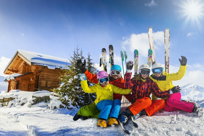 5 top tips for skiing as a family