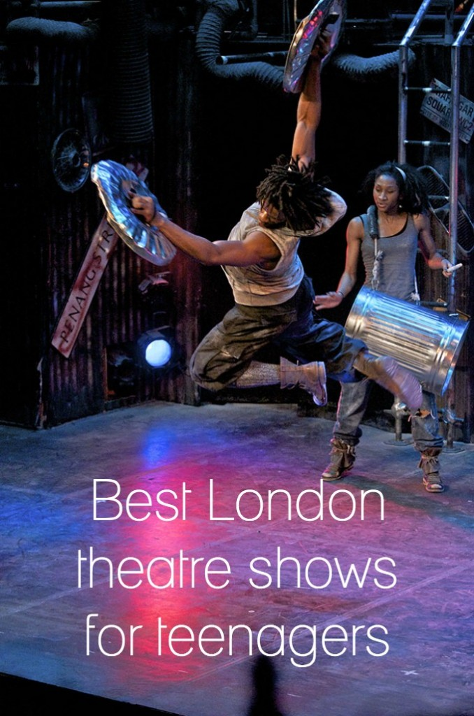 Best London theatre shows for teenagers - Stomp is a must, whether you like theatre or not