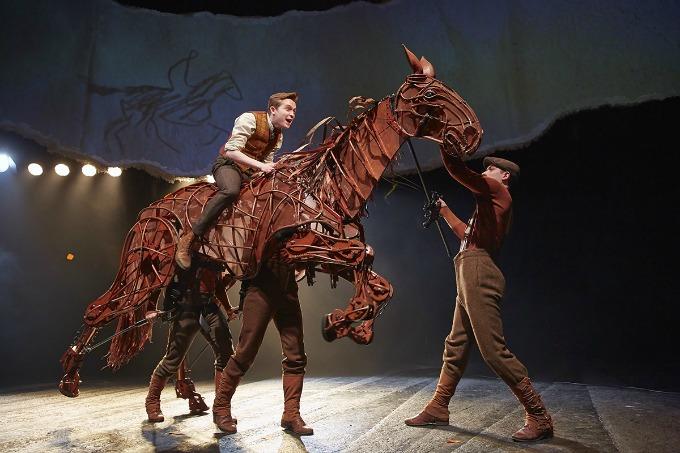 Best London theatre for teenagers - War Horse is inspiring in it's technical genius