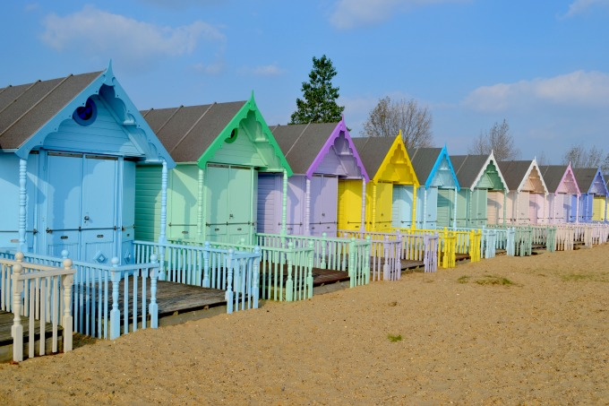 Images Of Beach Huts Paintings