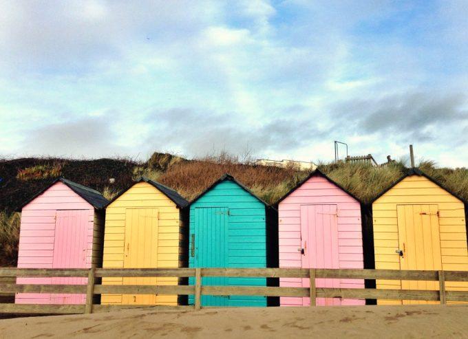 Bude beach huts
