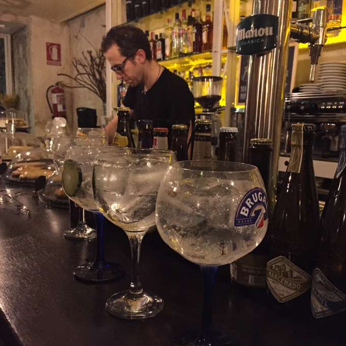 Exploring Madrid without kids - tapas and gin bars - 16