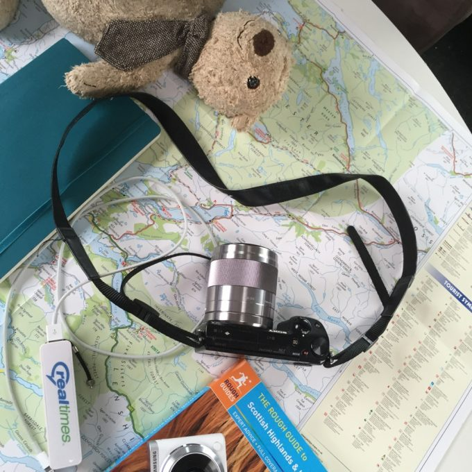 10 top tips for the perfect family campervan road trip, Apart from being fun to follow, paper maps and guidebooks are essential back ups if wifi or sat nav let you down!