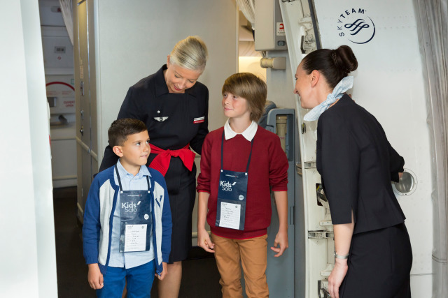 Flying as unaccompanied minors with Air France Kids Solo