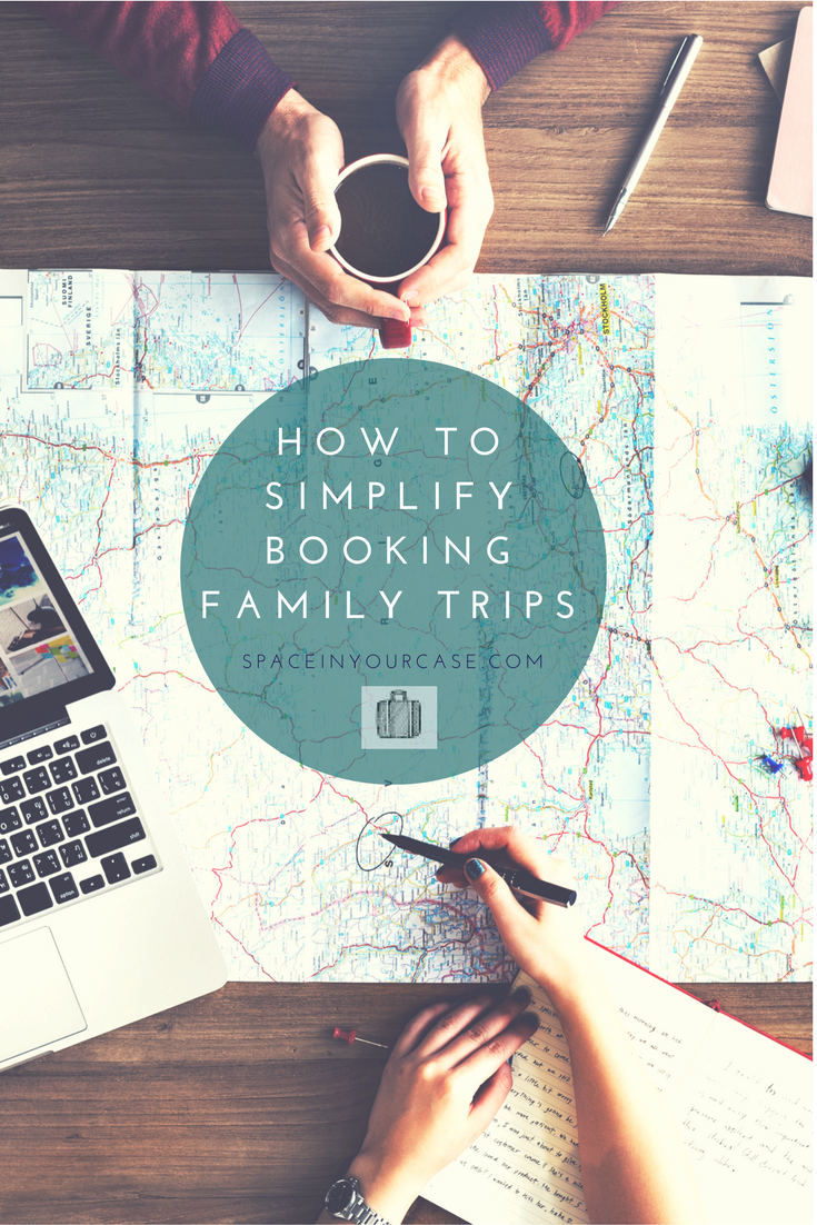 Do you find booking family holidays stressful? Here are 7 ways to flip your thinking about it and make it take less time and energy!
